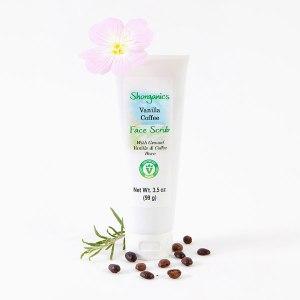 Vegan Face Scrub - Vanilla Coffee
