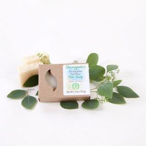 Organic Vegan Soap Eucalyptus Tea Tree