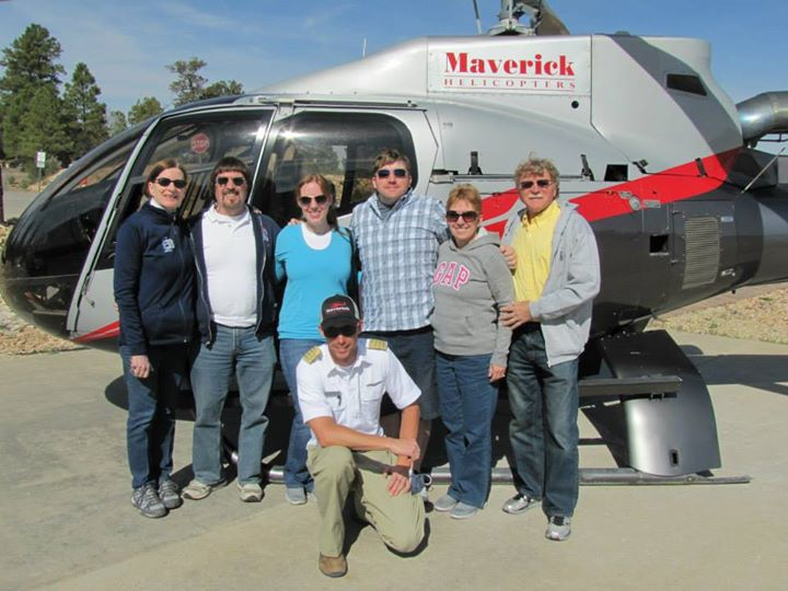 Bennett, our pilot, with everyone!